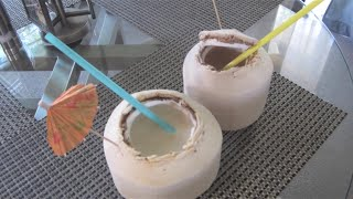 How to Make COCONUT DRINKS | House of X Tia