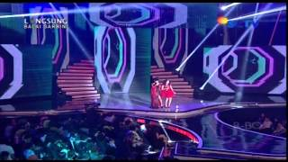 ZASKIA GOTIX Feat AYU TINGTING Live Infotaiment Awards (01-02-2013) Courtesy SCTV