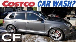 Costco Car Wash Review on my Porsche - Bad Idea?