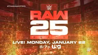 "WWE RAW 25 Years Official Theme Song - ""Burn It to the Ground"" by Nickelback"