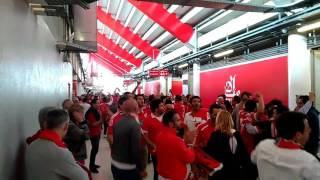 Benfica 5 Guimarães 0 - Ao intervalo