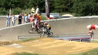 """BMX Moto 1, Lane 8, 20"""" ABA old dominion National Sunday, June 12 2011"""