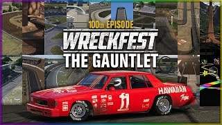 THE GAUNTLET: ALL STAR TRACK CHALLENGE | Wreckfest - 100th Episode