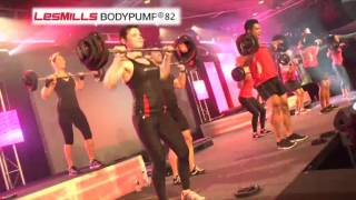 Les Mills BODYPUMP® 82 (footage from Ultimate Super Workshop Sydney, 2012)