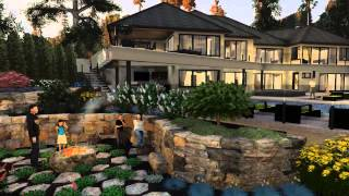 Animated 3D Design Presentation -Exterior Arch Viz, 3D Landscape Design