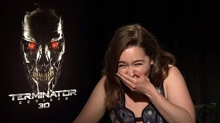 Emilia Clarke from Game Of Thrones Giggles Uncontrollably and it's ADORABLE!