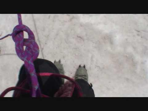 Crevasse hucking at 20,000 feet