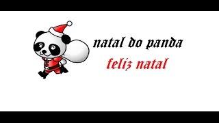 feliz natal: como que esta sendo o natal do panda o meu natal {coisa de panda}