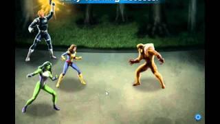 Marvel Avengers Alliance - Random fight