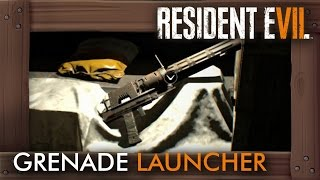 RESIDENT EVIL 7 -  Unlocking the grenade launcher (RE7)