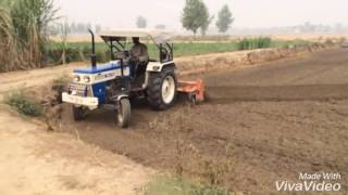 Tractor sawaraj 744