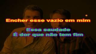 Racyne e Rafael - Me Dá o Seu Coração - karaoke
