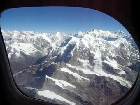 mountain flight over the Everest region – part 1.