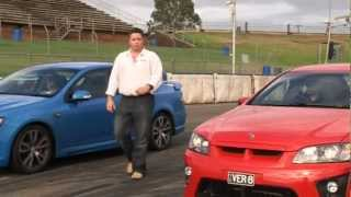 Holden HSV ClubSport v Ford FPV F6 2008   Head to Head   Performance   Drive.com.au