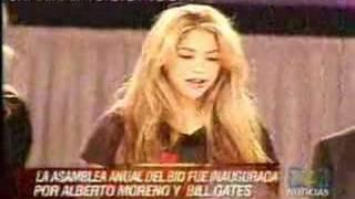 Shakira en YO AMO AMERICA (BID) - 4 de Abril