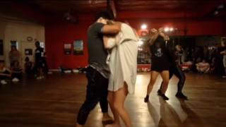 Janelle Ginestra choreo - Never be like you (Flume Ft Kai), Dancing @deannajenkins_ & @_julianray