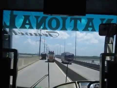 Jamuna Bridge Bangladesh | Full Bridge Bus Ride