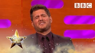 Michael Buble FINALLY reacts to his Christmas meme - BBC
