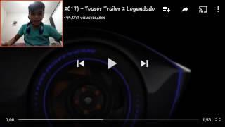 React: Carros 3 (Cars 3, 2017) Teaser Trailer 2 Legendado