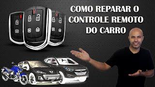 Como Reparo no Controle Remoto do Alarme do #Carro #Moto