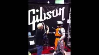 AC DC robot jam