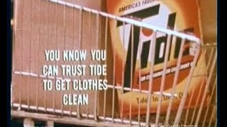 Tide Washing Powder - Vintage TV Commercial