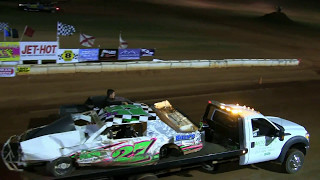 Dustin Boothe Roll over Deep South Speedway 4-29-17