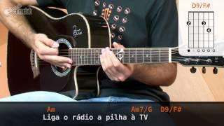Videoaula Luz Dos Olhos (aula de violão completa)
