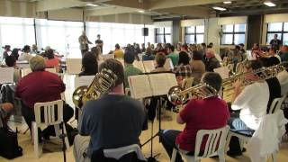 Oficina de Orquestra no Louvação 2015 - PIB Curitiba