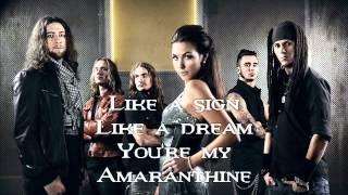 Amaranthe amaranthine lyrics