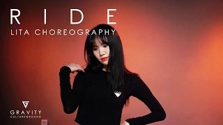 RIDE(Feat. SanE, CJ) - Lil Cham | LITA CHOREOGRAPHY