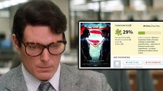 Christopher Reeve's Superman responds to Batman v Superman