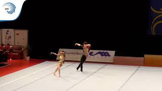 Viktoria AKSENOVA & Aleksandr DUBOVITSKIY (RUS) - 2015 Acro European Champions, 11 - 16