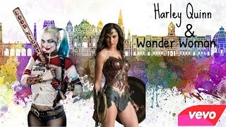 Take A Hit- Harley Quinn & Wonderwoman