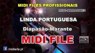 ♬ Midi file  - LINDA PORTUGUESA - Diapasão-Marante