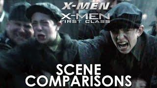 X-Men and X-Men: First Class - scene comparisons