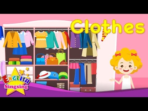 Kids vocabulary - Clothes