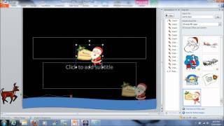 How to make simple animated e-card using Powerpoint