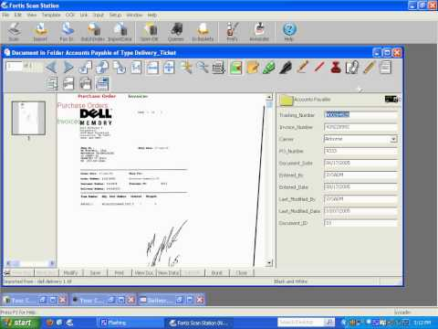 Electronically Collating Documents in Fortis Document Management