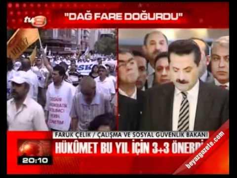 Memurlar 3+3 zam önerisini protesto etti. Yetmez Ama Evet Anayasası 2010, AKP Devam!