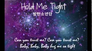 BTS   Hold Me Tight Karaoke English [Piano Version]