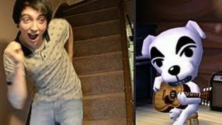 DANCING TO DJ K.K. - Animal Crossing: New Leaf