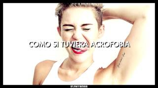 """Miley Cyrus ft. Britney Spears - """"SMS (Bangerz)"""" (Traducida al Español)"""