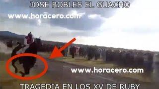 TRAGEDIA EN LOS XV DE RUBY - Jose Robles El Guacho (Nuevo Corrido)