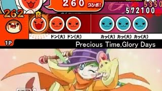太鼓さん次郎 Precious Time, Glory Days(遊戯王GX) 創作譜面