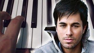 Bailando / Enrique Iglesias / Piano Tutorial / Notas Musicales