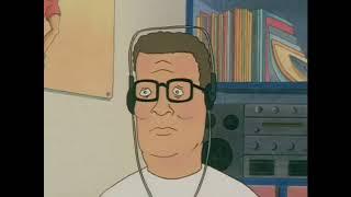 Hank Hill listens to Armin Van Buuren - Blah Blah Blah