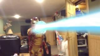 Iron man strikes shoot to thrill