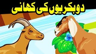 3D Cartoon Video ┇ 2 Bakriyon Ki Kahani ┇ Urdu Cartoon Kahani ┇ Kids Corner