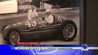 Exhibición de autos de carrera en Naples incluye 2 reliquias de la Carrera Panamericana